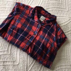 J.Crew Long Sleeve Flannel Shirt